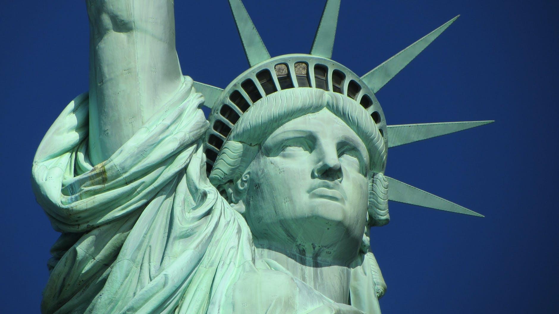 city new york statue of liberty usa