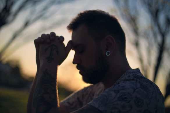alone calm faith light
