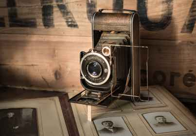 antique camera classic lens